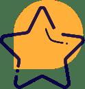 Das Icon zeigt einen Stern.