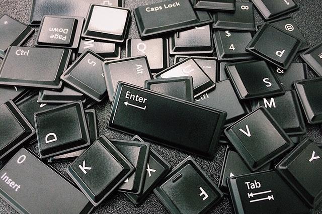 Symbolbild Tastaturnavigation mit Tastaturtasten