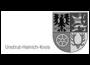Zu sehen ist das Logo des Unstrut-Heinrich-Kreises. Dieses beinhaltet 4 Felder und sieht mittelalterlich aus.
